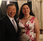 Representative Yuan posed with Diana Belchase