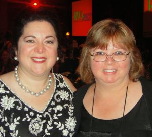 Diana Belchase and Lena Diaz at last year's Golden Heart Awards