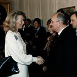 With Gorbachev