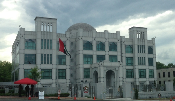UAE Embassy Exterior