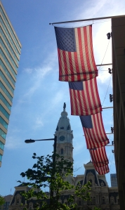 Flags over Philadelphia
