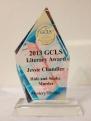 The prestigious Goldie Award