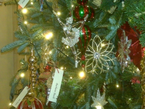 Detail from First Lady's Christmas Tree