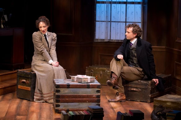 Megan McGinnis and Paul Alexander Nolan in DADDY LONG LEGS