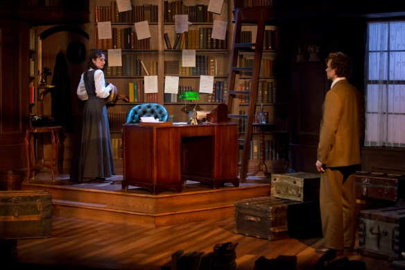 Paul Alexander Nolan and Megan McGinnis in DADDY LONG LEGS